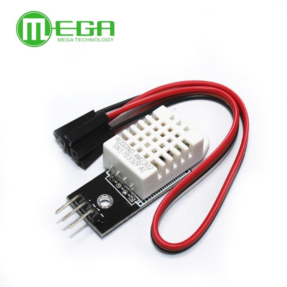 10 Uds., DHT22 Sensor Digital de temperatura y humedad, módulo AM2302 SHTC3