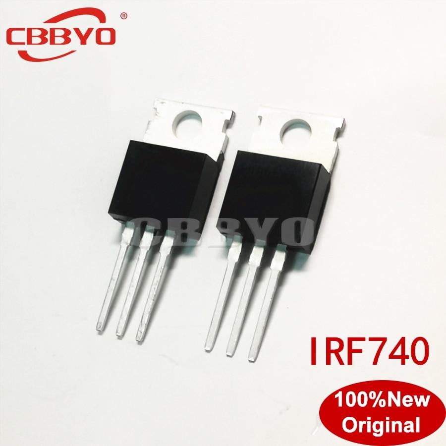 10 teile/los IRF740PBF IRF740 ZU-220 NEUE