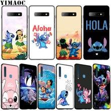 YIMAOC cute Lilo Stitch Anime Soft Silicone Phone Case for Samsung Galaxy S20 Ultra S10 Lite S9 S8 Plus S6 S7 Edge S10e