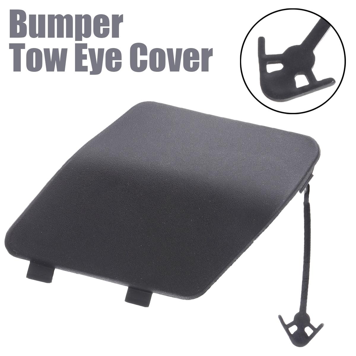 Novo 1 pçs preto pára-choques tow eye hook capa tampa a406 amortecedor traseiro do carro gancho de reboque para nissan para vauxhall