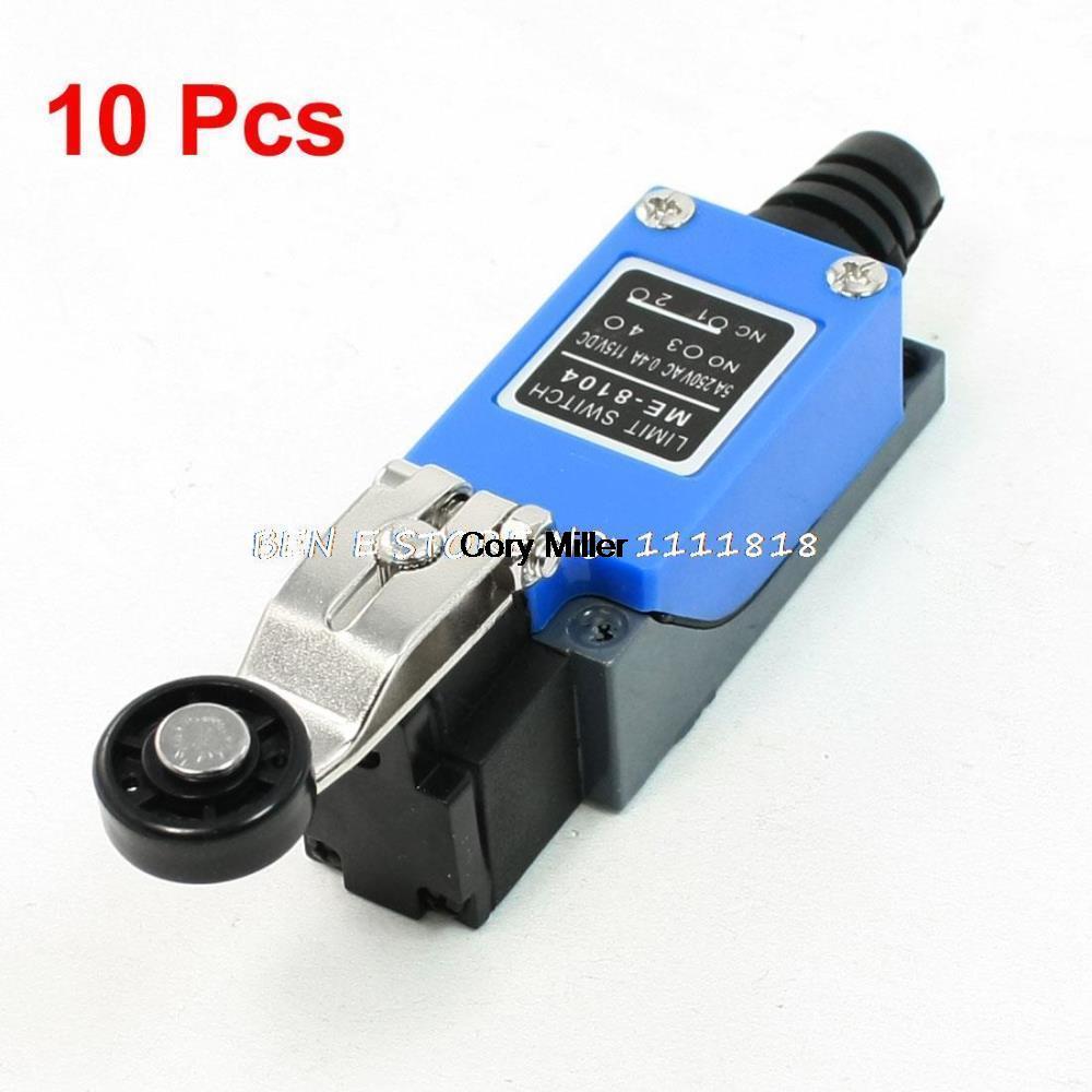 مفتاح حد ذراع الأسطوانة البلاستيكية الدوارة ME-8104, لمطحنة CNC بالبلازما