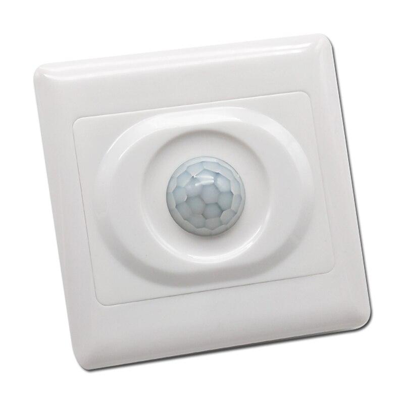 110 V 220 V PIR di Movimento A Infrarossi Sensore di Luce Modulo di Interruttore Automatico On Off Interruttore HA CONDOTTO LA luce di Induzione Del Corpo di Luce interruttore di controllo