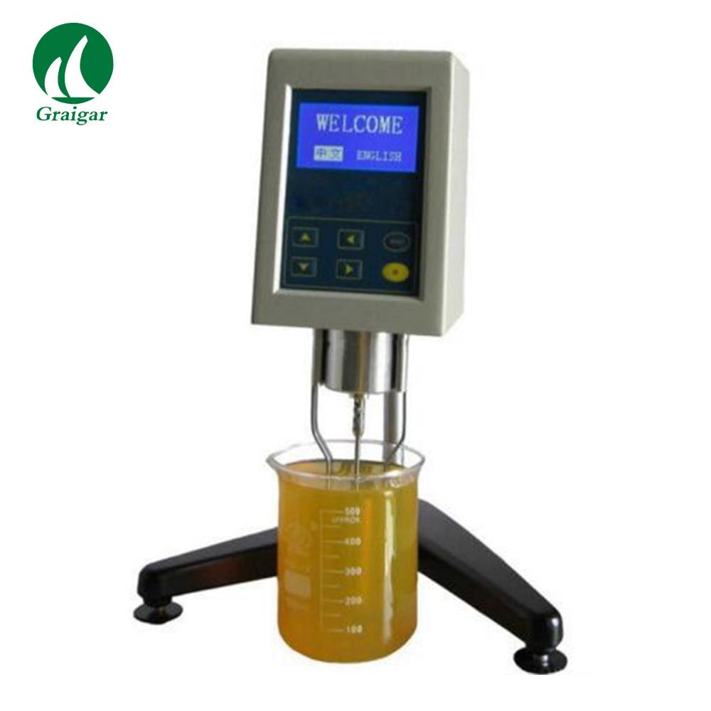 NDJ-9S viscosímetro rotacional de alta precisión, probador de viscosidad Digital 1-100000 mPa. s