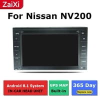 for nissan nv200 evalia 20102018 accessories android car gps navigation multimedia player radio stereo video headunit 2din
