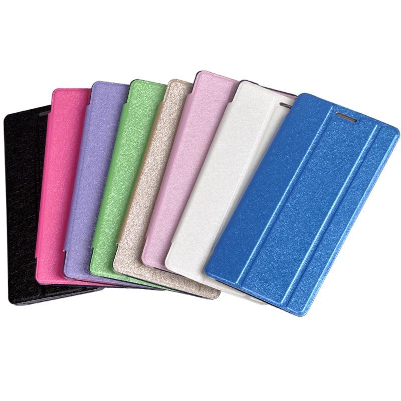Phab2 Pro Flip Pouch Cover For Lenovo Phab 2 Pro Tango AR PB2-690N PB2-690M PB2-690Y Case Silk Grain Stand PU Leather Skin Case