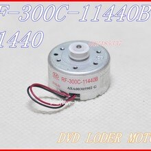 5pcs/ lot VCD / DVD Audio system loader motor RF-300C-11400B