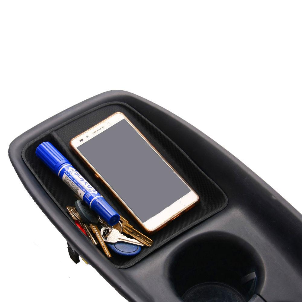 Набор для хранения центральной консоли из углеродного волокна для Toyota Prius XW50 2015-17