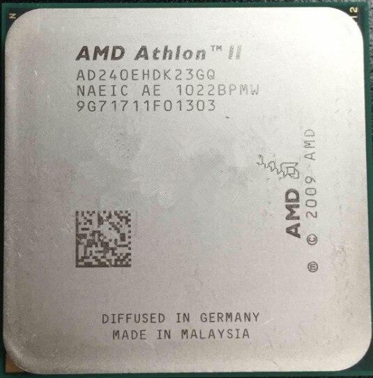 AMD CPU athlone II X2 240E x2 240E CPU 2,8 ГГц сокет AM3 процессор 45 Вт двухъядерный осыпаемый штук