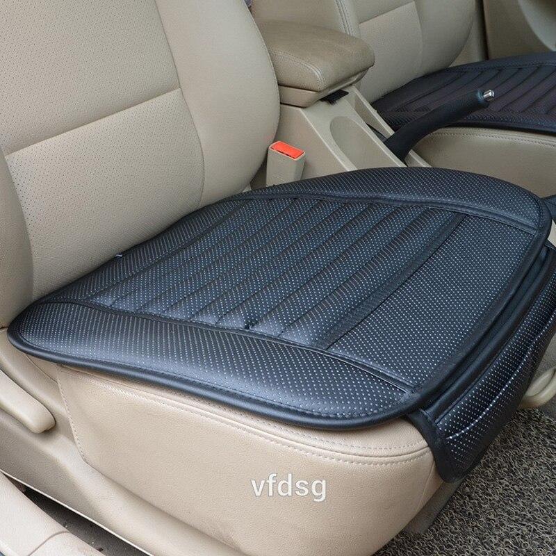 Cojín para asiento de coche, cojines de piel sintética para las cuatro estaciones, fundas para asiento de coche, alfombrilla para asiento de coche Mercedes