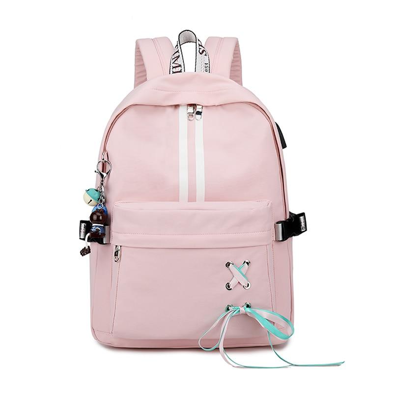 2019 moda damska torba na laptopa 15.6 cala plecak na notebooka dla Macbook Air Pro 11 12 13 15 Xiaomi Lenovo Girls plecaki na laptopa
