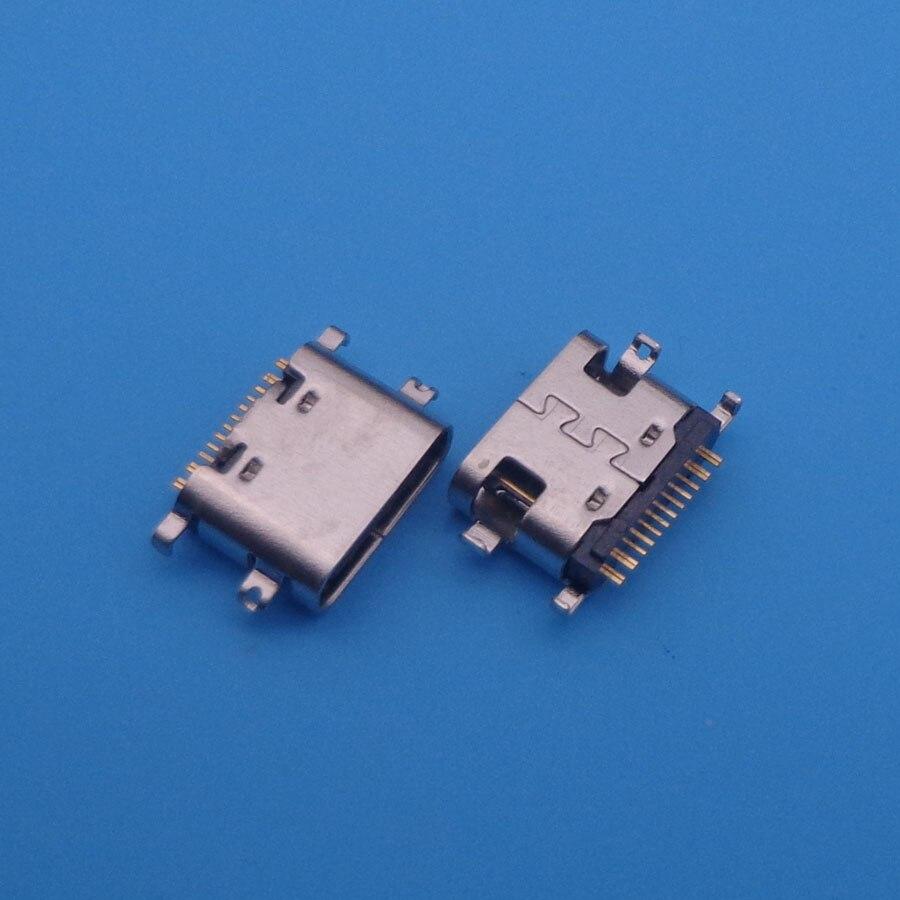 2pcs For BLUBOO S1 micro mini usb jack 16-pin type-C connector socket charging port replacement dock plug 16pin 16 pin