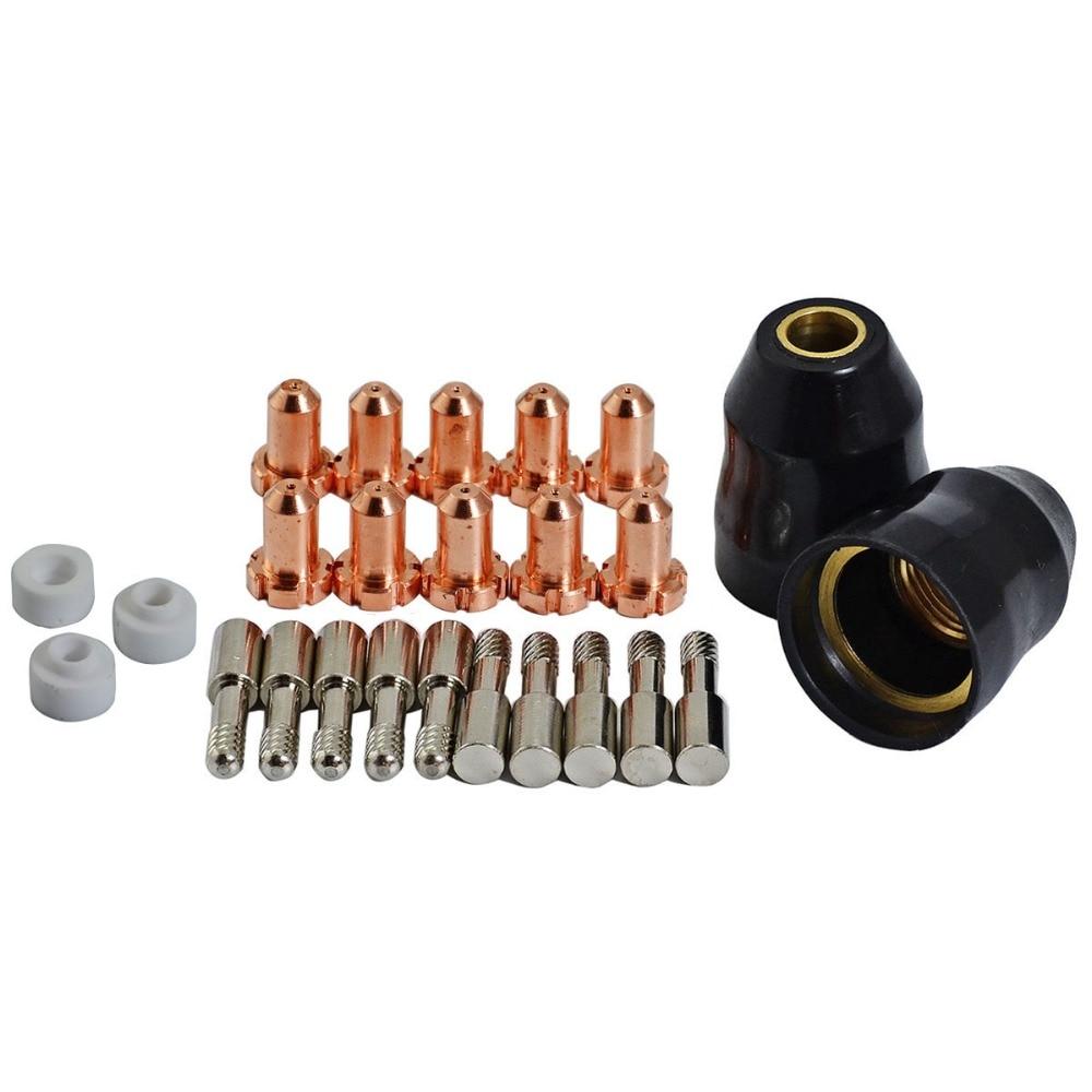 9-6006 Plasma Electrode 9-4476 Tip 9-6007 9-6003 Fit Thermal Dynamics PCH-M25 Torch, 25PK