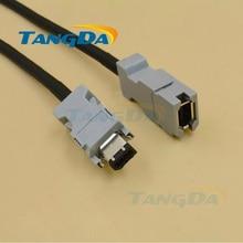 Tangda-câble codeur moteur   Pour Yaskawa, moteur de servo, codeur câble, 05 08 6 core 6p