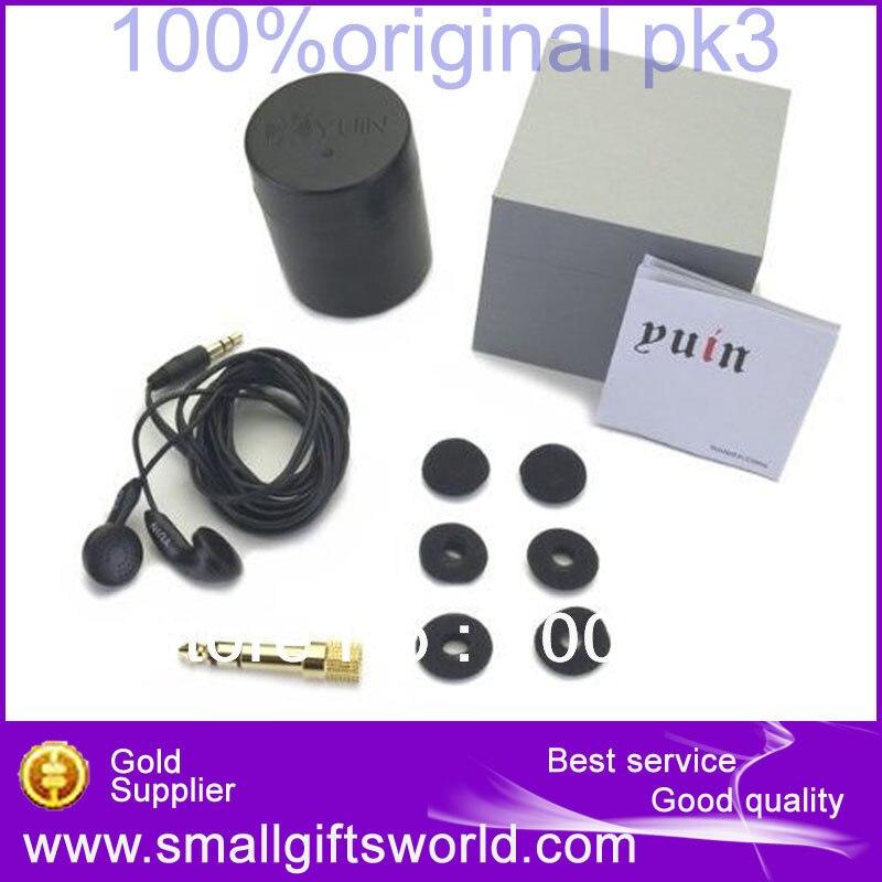 Наушники-вкладыши Yuin PK3 с традиционным дизайном по последним технологиям, Hi-Fi аксессуары