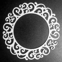 scd1203 flower circle metal cutting dies for scrapbooking stencils diy album cards decoration embossing folder die cuts tools