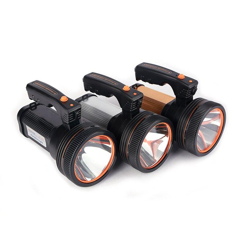 Super Bright LED Portable Light(Built-in 9000mA li-ion Battery)+USB Chaging cable+ Shoulder Strap Black/Silver/Gold Color Option enlarge