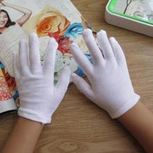 children's white cotton gloves boy and girl white dancing glove kids white etiquette gloves 2 pieces