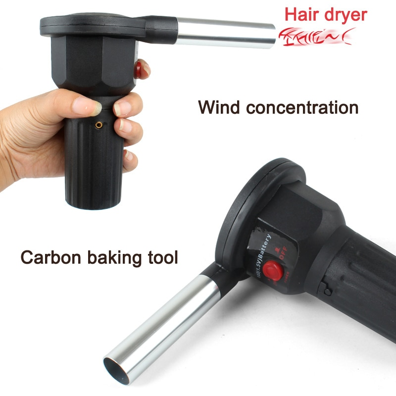 Ventilador de aire Ventilador de barbacoa eléctrico caliente ayuda a quemar los encendedores de cocina de Picnic herramientas de barbacoa TI99