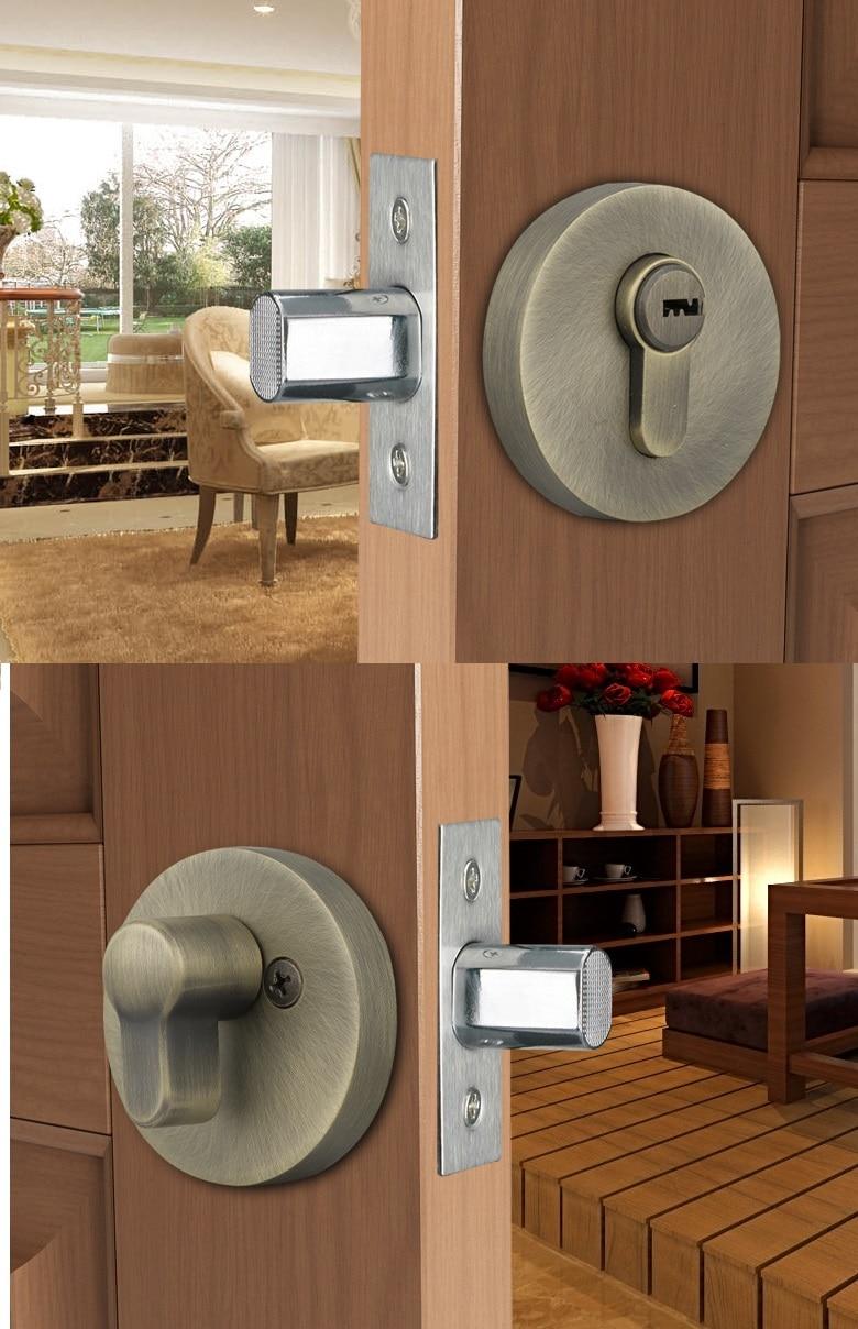 Premintehdw-مجموعة قفل الباب الداخلي ، مخفية ، غير مرئية ، تحول الإبهام ، غرفة النوم