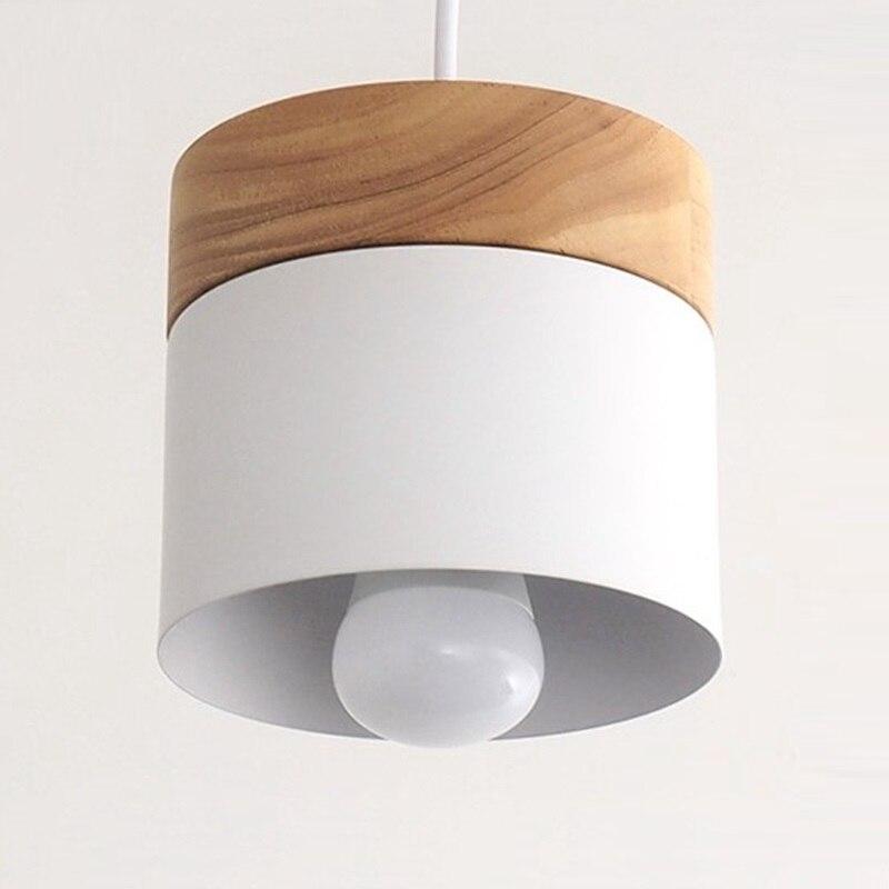 LukLoy LED Luces colgantes modernas luz colgante de colores nórdicos cocina sala de estar Loft Ins ropa lámpara colgante lámpara
