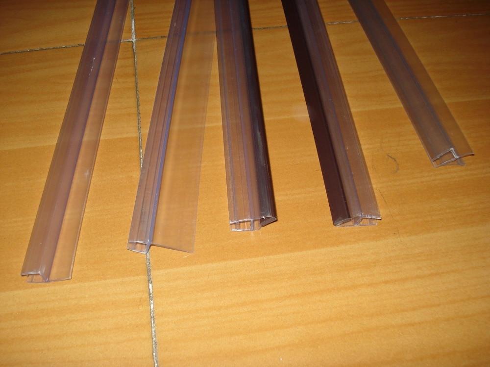 Bathroom Shower enclosure house rubber seal waterproof strips glass door rubber seals