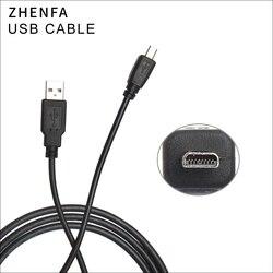 Cabo USB para Câmeras FUJIFILM JX200 JX205 FinePix JX210 Zhenfa JX330 JX290 JX295 JX300 JX305 JX255 JX250 JX280 JX260 JX335