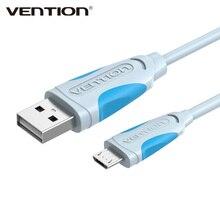 Vention micro cabo usb fio de carregamento rápido para android telefone móvel sincronização de dados carregador cabo 3m 2m 1m para samsung htc xiaomi sony