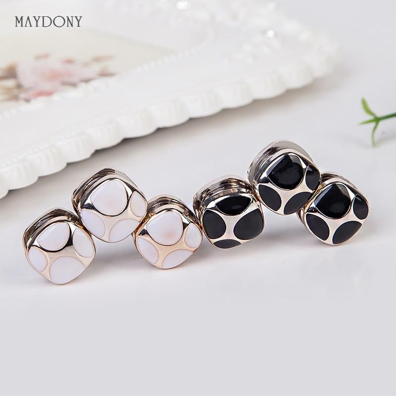 XT105 fashion headwear scarf magnet brooch Bow tie hijab clips