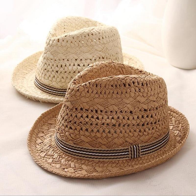 Summer Women Sun Hats Sweet Colorful Tassel Balls men Straw hats Girls Vintage Beach Panama Hats Chapeu Feminino Fedoras Jazz