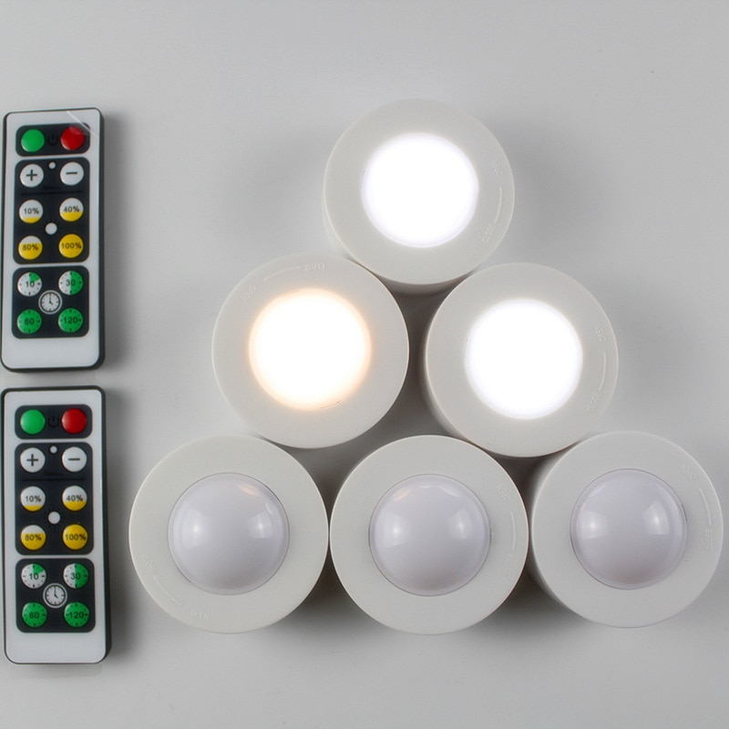 Wireless Dimmable Touch Sensor Under Cabinet Light Timing Kitchen Hallway Cupboard Closet Wardrobe Night Lamp Luminaria Under Cabinet Lights Aliexpress