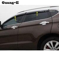 Car Body Lamp Plastic Window Glass Wind Visor Rain/Sun Guard Vent Parts 4pcs For Mazda CX-5 CX5 2nd Gen 2017 2018 2019 2020