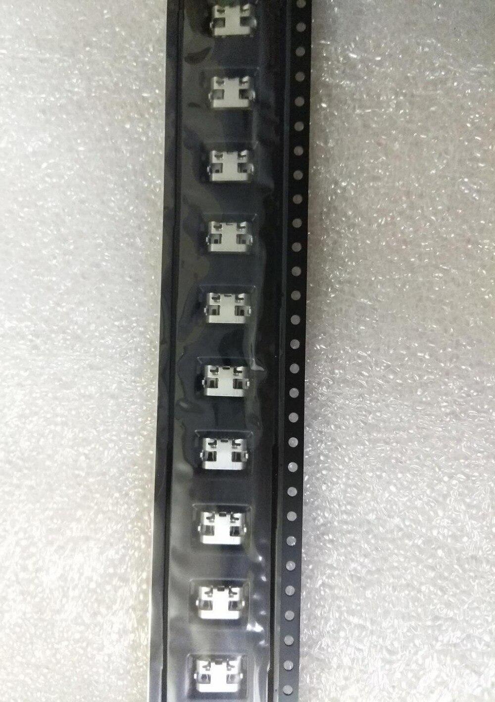 50 pçs/lote, para alcatel um toque pixi 4 ot 4034d 4034x pixi 3 4g 5065d ot 5065 usb carregador de carregamento conector porto doca plug