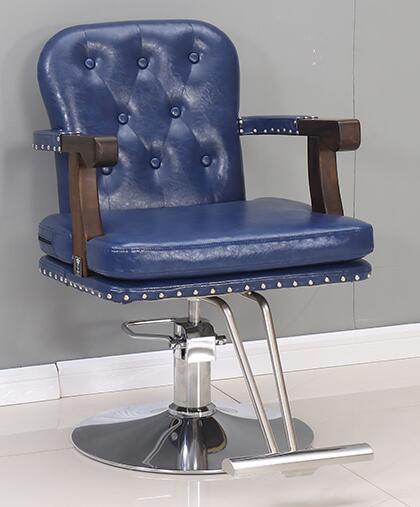 كرسي تصفيف خاص لصالون تصفيف الشعر عالي الجودة ، كرسي استعادة الشعر على الطراز القديم ، يمكن رفع الشعر