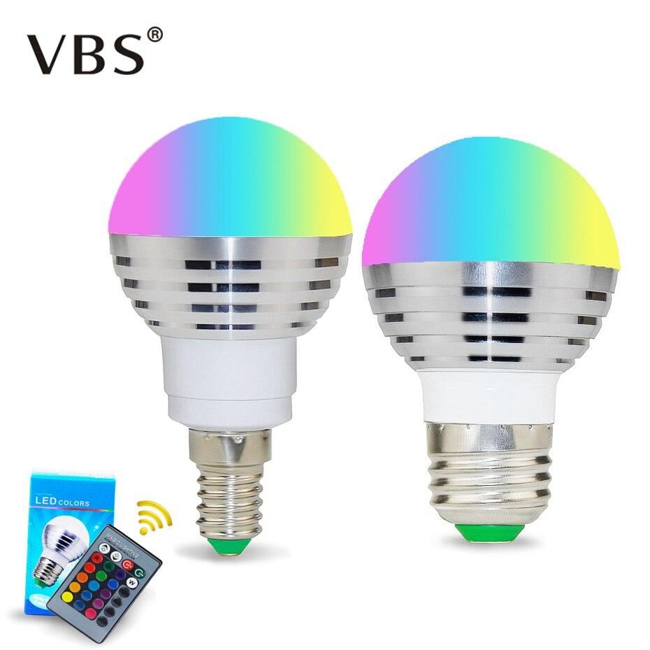 1 шт. цветной меняющийся прожектор, светодиодная RGB лампа с памятью E14 E27, светодиодная лампа с дистанционным управлением, 24-клавишный контроллер для украшения дома