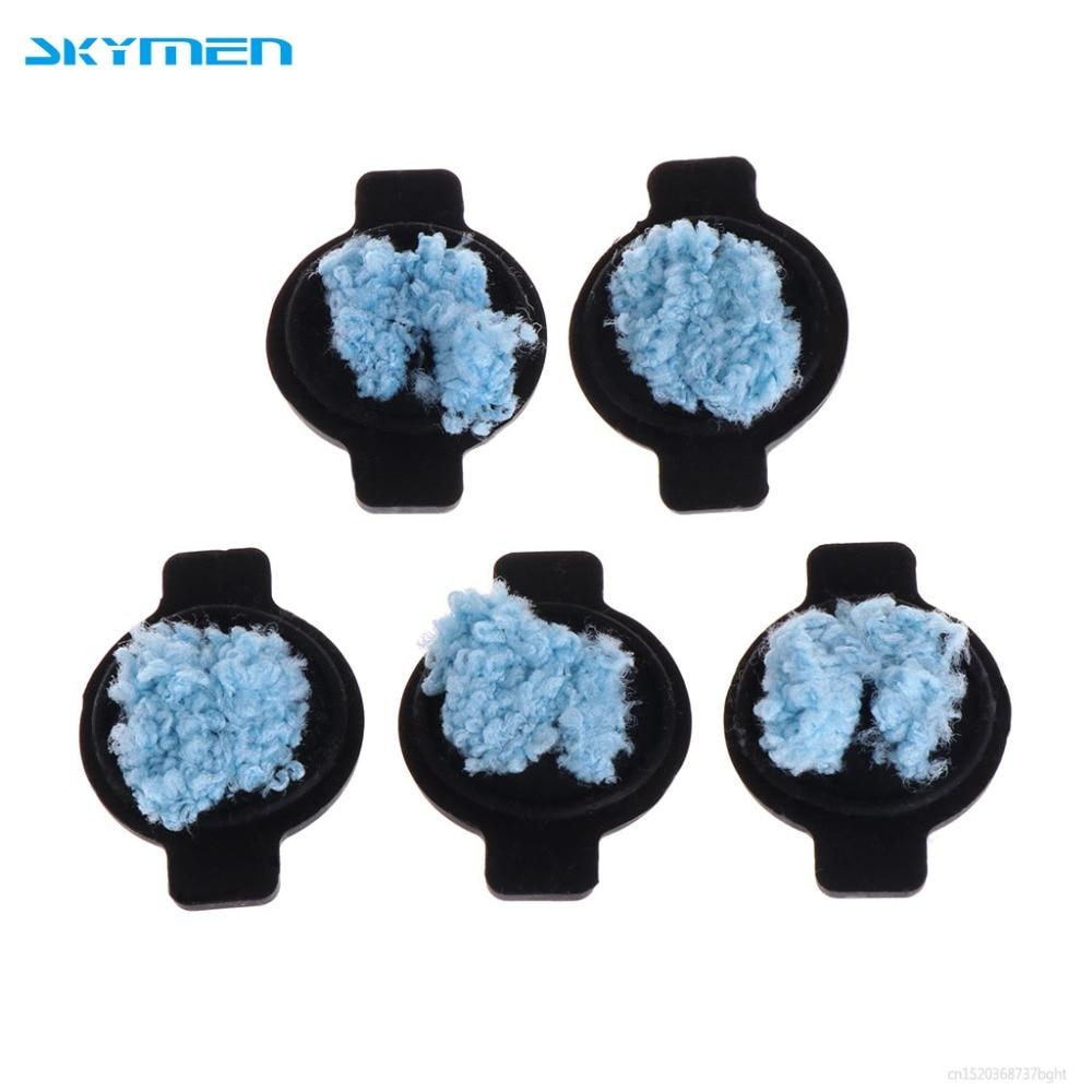 SKYMEN 5 uds agua tapón con mecha Kit para iRobot Braava 380 380t 320 de 4200, 4205 de 5200 5200C