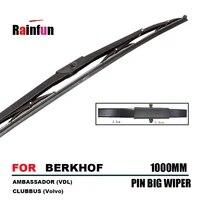 rainfun 1000mm long bus wiper blade for berkhof ambassador vdl clubbus volvo city pin type wiper blade