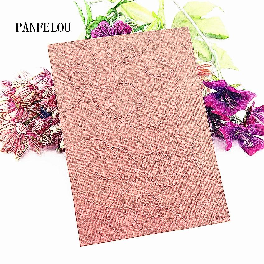 Easter plastic clock template line craft card making paper card album wedding decoration clip Embossing folders