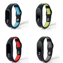 Silicone pour Xio mi bande 2 3 4 Bracelet montre Bracelet intelligente pour Xao mi band4 3 2 Bracelet pour Xiao mi bande 2 Bracelet