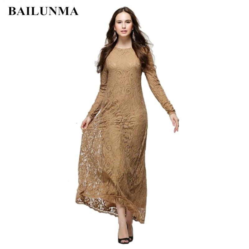 Fashion long sleeve Lace Bodycon dress Women Party dress summer clothes for women floral dress elegant ladies dresses plus size