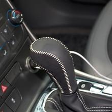 Boîtier en cuir sur le levier de vitesse   Couche supérieure du levier de vitesse, pour Chevrolet Malibu AT bouton de vitesse, accessoires boîtier du levier de vitesse ppc rpc handl