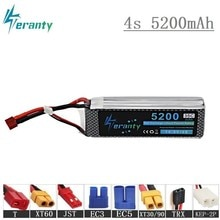 4s 5200mAh 35C 14.8V Battery For RC Cars Robot Airplanes Helicopter Spare Parts 4s Lipo battery 14.8
