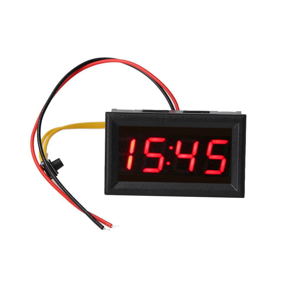 Relojes electrónicos universales LED para coche 2020, relojes para salpicadero de motocicleta, reloj LED para coche, reloj con pantalla Digital