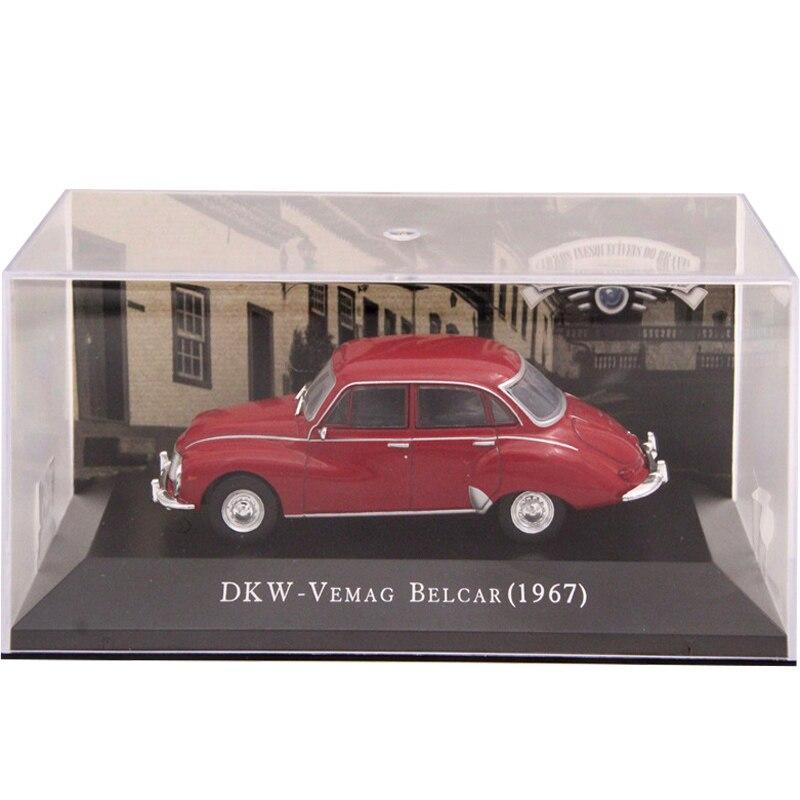 Ixo altaya 143 escala dkw vemag belcar 1967 brinquedos carros diecast modelos edição limitada coleção