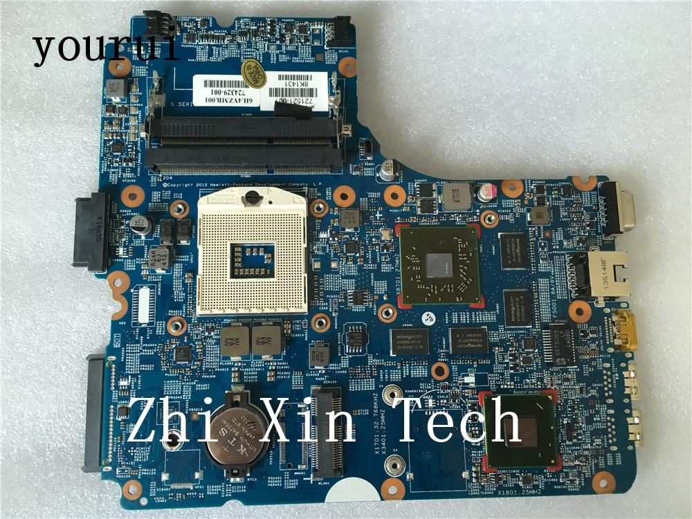 Yourui ل HP Probook 440 450 470 G1 سلسلة 721521-001 721521-501 721521-601 1GB DDR3 اللوحة المحمول