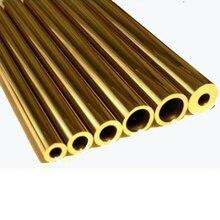 Tube en laiton tuyau en laiton bricolage couteau poignée rivet diamètre 1.5mm, 2mm, 3mm, 5mm, 6mm, 8mm, 10mm-1 pièce