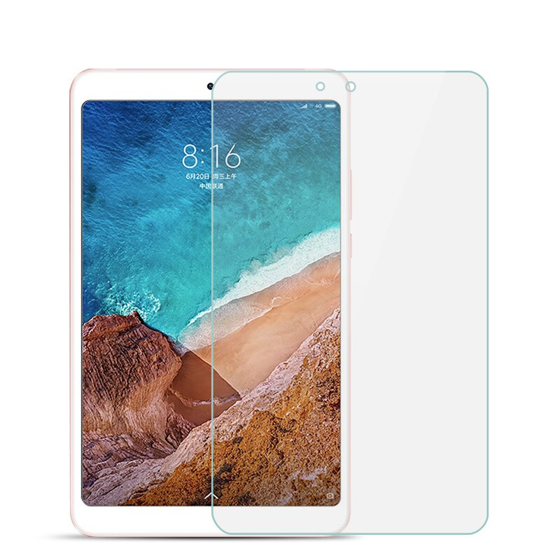 Vidro temperado para xiaomi mi almofada 4 plus mipad4 mipad 4 2018 8.0 10.1 polegada tablet protetor de tela película protetora vidro guarda