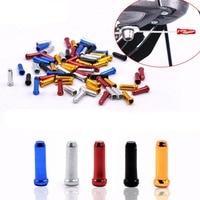 Колпачок на велосипедный тормоз, алюминиевый сплав, цвет в ассортименте, шт./пакет шт