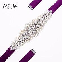 Steentjes Trouwjurk Riem diamond Sash Belt Crystal Bridal Jurken Riem Voor Bruiloft Accessoires De Mariage