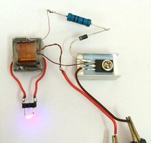 Generatore di alta tensione step-up inverter arc bobina di accensione modulo di sigaretta elettronica FAI DA TE suite di produzione Kit FAI DA TE