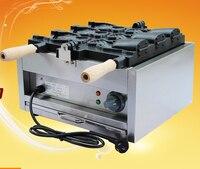 FY-1103B 220 V Japanses פה פתוח מכונה | חשמלי taiyaki יצרנית taiyaki דגים בצורת עוגת מכונה | מכונה גלידה